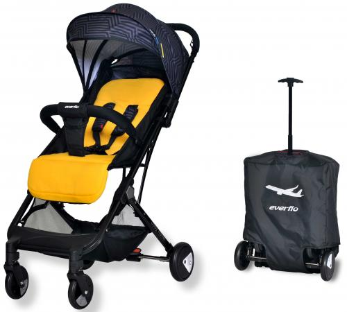 Фото - Коляска прогулочная Everflo Baby Travel E-330 (yellow) коляска прогулочная everflo baby travel e 330 red