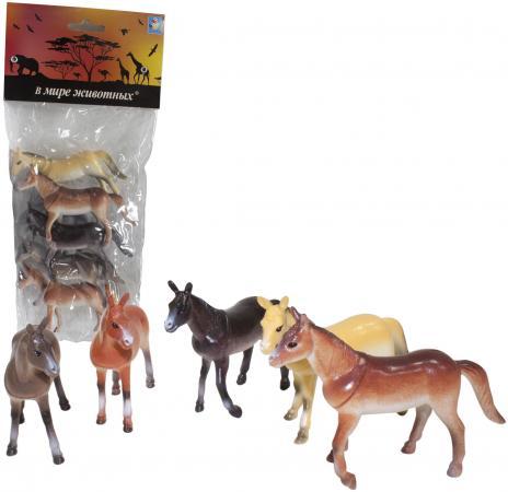 Набор фигурок 1Toy В мире животных - Лошади 10 см