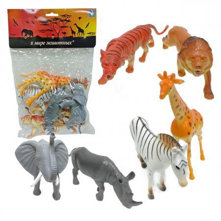 Набор фигурок 1Toy В мире животных 15 см 1toy в мире животных наб игр животных 6 шт х 15 см в упаковке пвх с хедером