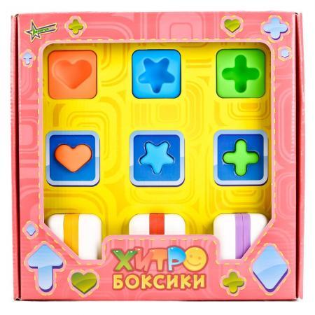 Настольная игра Нордпласт Логика для крох - Хитробоксики 853 головоломки нордпласт логика для крох хитробоксики мини бокс