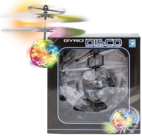 Фото - Интерактивная игрушка 1toy Gyro-Disco от 5 лет Т10794 игрушка 1toy gyro 109 вертолет с гироскопом т52819