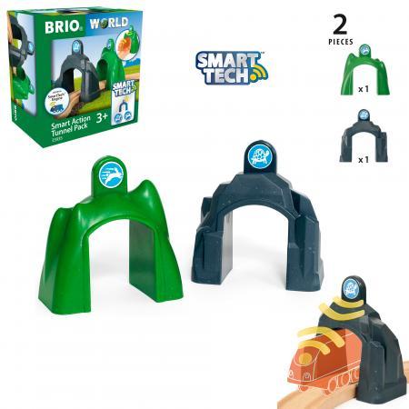 Набор Brio Набор туннелей зеленый 33935 механический перкресток brio