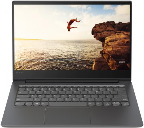 Ноутбук Lenovo IdeaPad 530S-14IKB  2560x1440 Intel Core i7-8550U  Gb 8Gb  UHD Graphics 620 черный Windows 10 Home 81EU00BFRU
