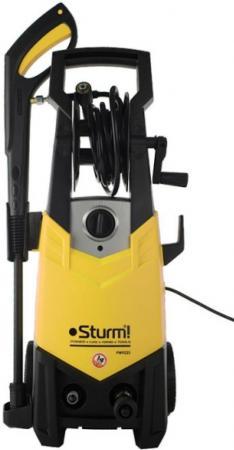 Sturm PW9223 Мойка высокого давления Sturm! 2300 Вт; 130/160 Бар; 400л/ч; Ф. ВСАСЫВАНИЯ, катушка [PW9223] мойка sturm pw9219