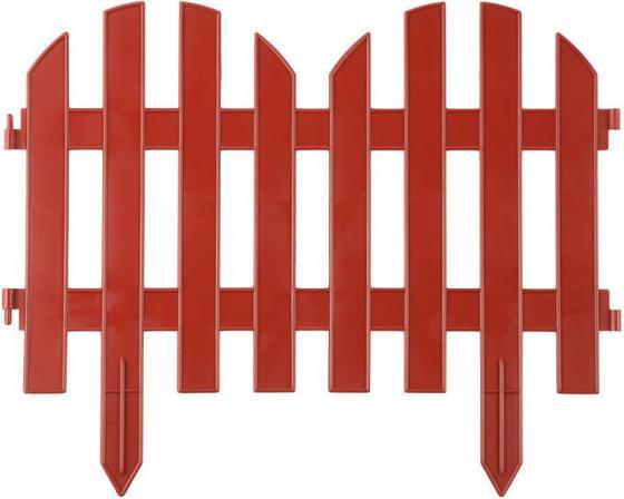 Забор декоративный GRINDA ПАЛИСАДНИК, 28x300 см, терракот [422205-T] забор декоративный grinda 422267