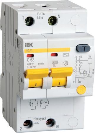 Iek MAD10-2-025-C-030 Диф.автомат АД12 2Р 25А 30мА ИЭК выключатель автоматический дифференциального тока иэк 2п 25а 30ма ад 12 mad10 2 025 c 030