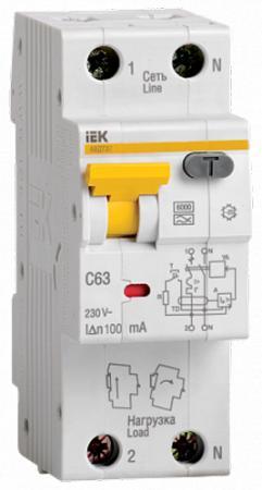 цена на Iek MAD22-5-025-C-30 АВДТ 32 C25 - Автоматический Выключатель Дифф. тока