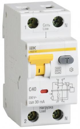 цена на Iek MAD22-5-032-C-30 АВДТ 32 C32 - Автоматический Выключатель Дифф. тока