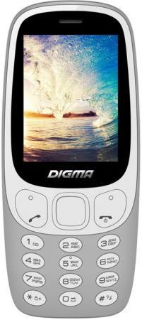 """Мобильный телефон Digma N331 2G серый 2.44"""" стоимость"""