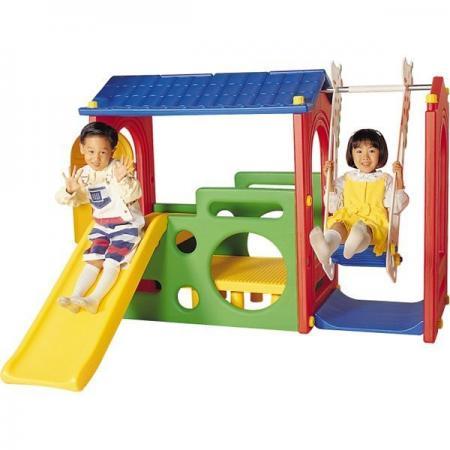 Игровой комплекс Haenim Toy DS-703 качели haenim toy жираф дракон для двоих детей