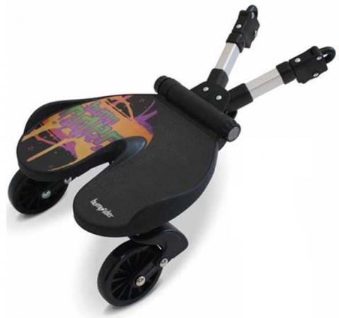 Универсальная подножка для второго ребенка Bumprider splash 51291-003(Splash черный оранжевый 51291-003) splash toys для создания ободков
