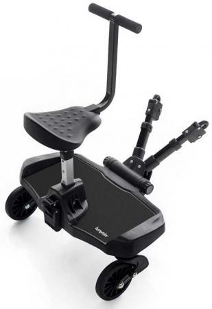 Подножка Bumprider Sit для второго ребенка с сиденьем Black 51291-4004(Black 51291-4004 черный) аксессуары для колясок litaf подножка для второго ребенка e z step