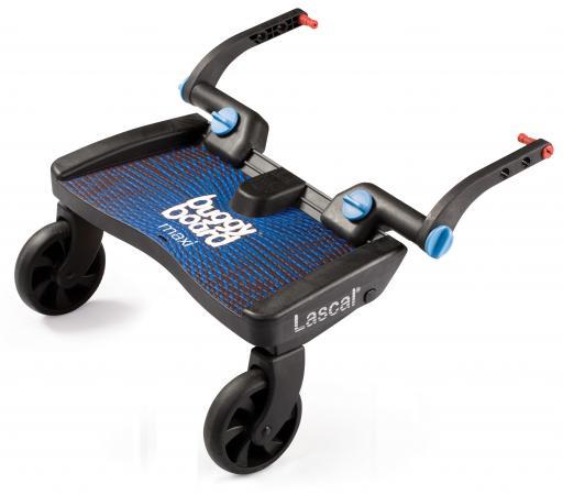 Подножка для второго ребенка Lascal Buggy Board Maxi (blue) подножка lascal ласкал для второго ребенка buggy board maxi monkey jungle green 2762