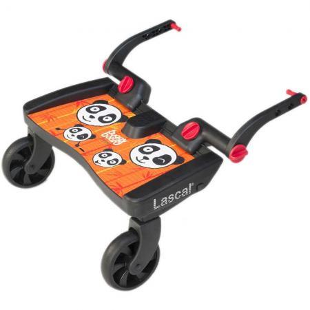 Подножка для второго ребенка Lascal Buggy Board Maxi (panda jungle orange) все цены