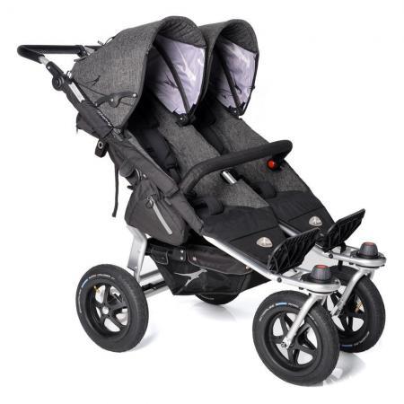 Прогулочная коляска для двойни TFK Twin Adventure Premium (411) прогулочная коляска для двойни tfk twin trail 333 twilight blue