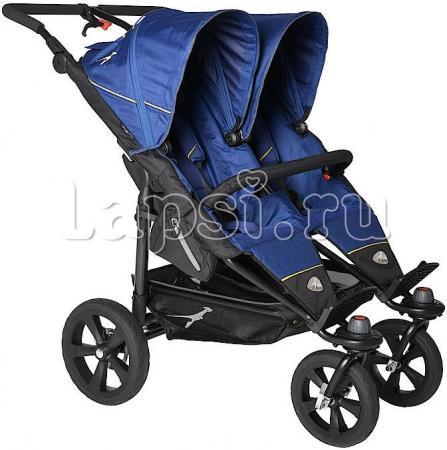 Прогулочная коляска для двойни TFK Twin Trail(T-TWT-333 Twilight Blue) baby care для двойни city twin blue bt1106t