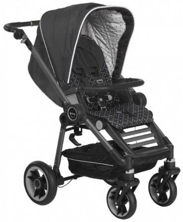 Прогулочная коляска Teutonia Bliss(6160 Twinkle шасси Graphite серый)