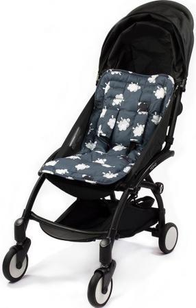 Матрасик Choopie для коляски с чехлами на ремни CityLiner (black sheep) матрасик choopie для коляски с чехлами на ремни cityliner polka dot