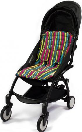 Матрасик Choopie для коляски с чехлами на ремни CityLiner (broadway stripes) матрасик choopie для коляски с чехлами на ремни cityliner polka dot