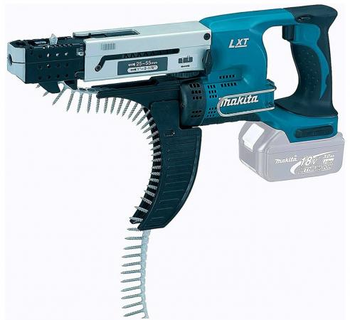 цена на Шуруповерт аккумуляторный MAKITA DFR550Z магазинн 18В LiIon 4000об/мин 6гр. 1/4 2.3кг