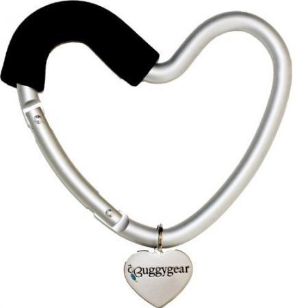 Крепление для сумок Buggygear Сердечко (silver/black) jiahui tcrt5000 photoelectric sensor module black silver