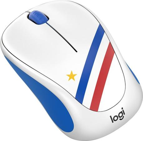 Мышь беспроводная Logitech Wireless Mouse M238 Fan Collection FRANCE 910-005404 рисунок USB цена