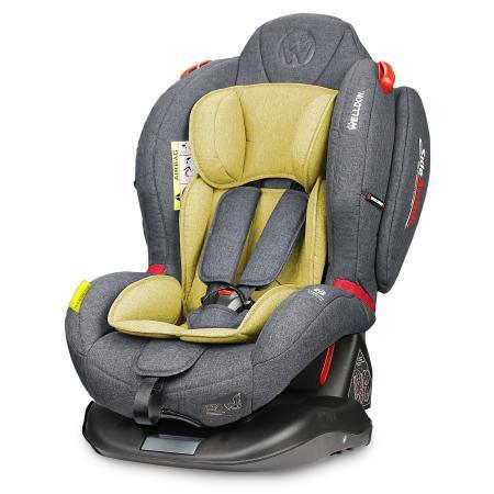 Автокресло Wellodon Royal Baby Dual Fit (olive) автокресло wellodon safe rotate fix olive