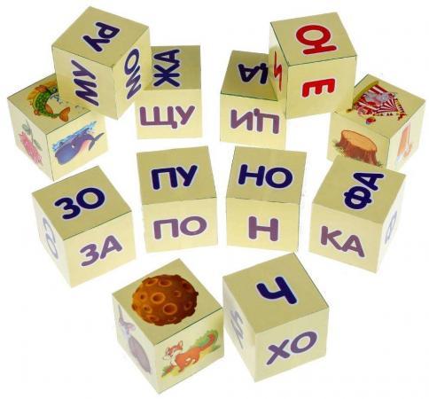 Набор кубиков ИГРАЕМ ВМЕСТЕ А. Л. Зайцев.Читаем по слогам 12 шт играем вместе кубики winx 6 кубиков деревянные играем вместе
