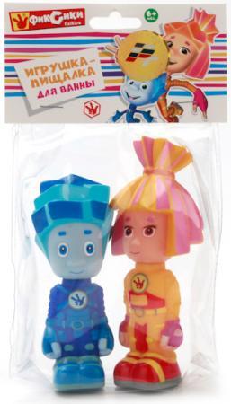 Набор игрушек для ванны ИГРАЕМ ВМЕСТЕ Фиксики - Симка и Нолик 10 см 155R-PVC-NEW цена