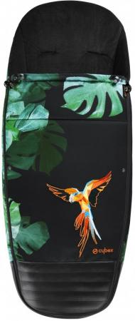 Накидка для ножек для коляски Cybex Priam(birds of paradise) накидка на ножки в коляску cybex priam midnight blue