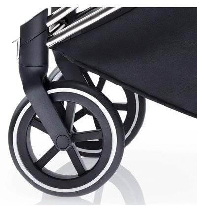 Комплект передних колес для коляски Cybex Priam (TR chrome) система дополнительных колес quinny блок передних колес для коляски moodd 4 black