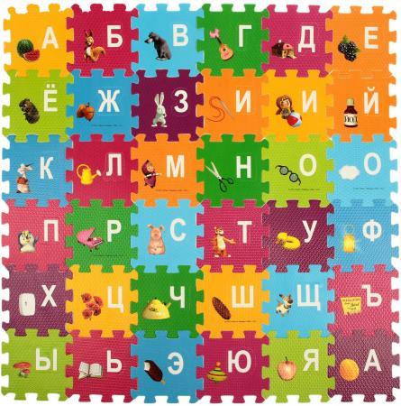 Коврик-пазл 36 элементов ИГРАЕМ ВМЕСТЕ Азбука FS-ABC-03-MM