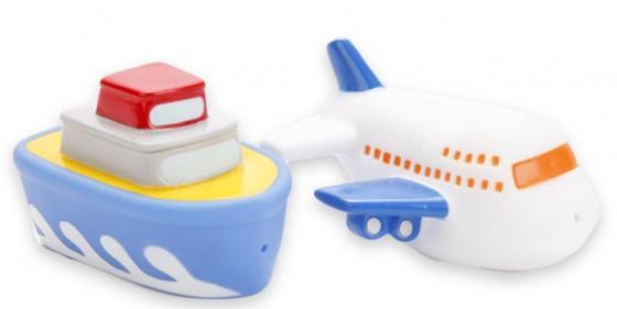 Набор игрушек для ванны ИГРАЕМ ВМЕСТЕ Корабль+самолёт цена