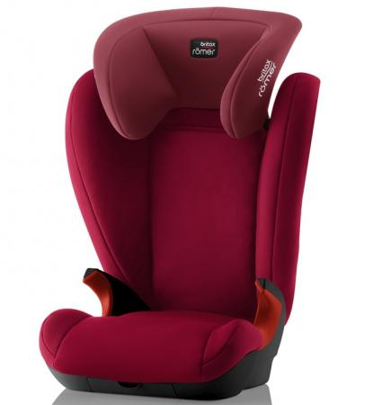 Автокресло Britax Romer Kid II Black Series (flame red trendline) кулон розовый кварц кристалл 4 5 см