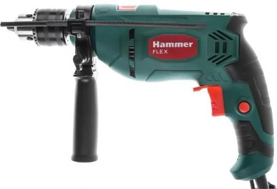 Ударная дрель Hammer Flex UDD650LE 650Вт перфоратор hammer prt650a 650вт