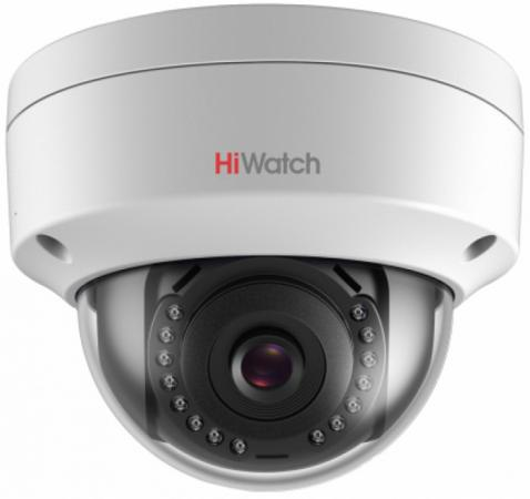 Камера IP Hikvision DS-I102 CMOS 1/4 4 мм 1280 x 720 H.264 MJPEG RJ-45 LAN PoE серый panarama escam qp130 3d 1 3mp fisheye 1280 1024 h 264 ip camera