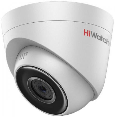 Камера IP Hikvision DS-I103 CMOS 1/4 2.8 мм 1280 x 720 H.264 MJPEG RJ-45 LAN PoE серый камера ip orient ip 36 720p cmos 1 4 3 6 мм 1280 x 720 rj 45 lan белый
