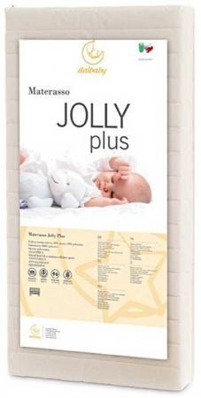 Матрас 60х120см Italbaby Jolly Plus (белый) матрас 63x125см italbaby supersoft 010 0920