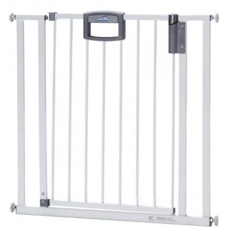 Ворота безопасности 80,5-88,5х81,5см Geuther Easylock (белый) ворота безопасности дверные 86 121х93 5 133см geuther натуральный