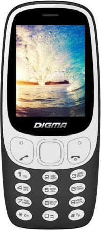 Мобильный телефон Digma N331 2G черный 2.44 телефон