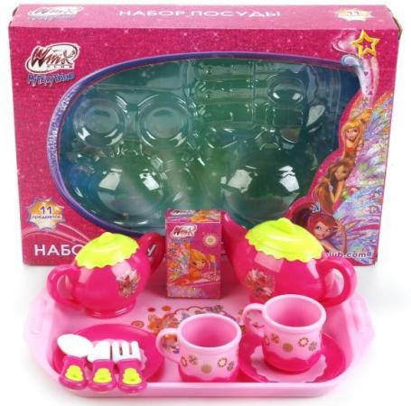 Набор посуды Играем вместе ВИНКС играем вместе умные часы электронные b1654563 r2