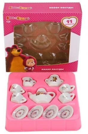 Набор посуды Играем вместе Маша и Медведь игрушечная посуда играем вместе набор посуды принцессы