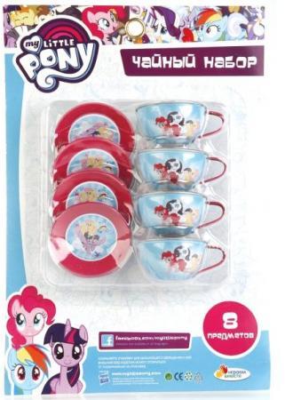 Набор посуды Играем вместе My little pony металлическая играем вместе бубен my little pony b421478 r2