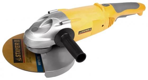 Углошлифовальная машина Stayer SAG-230-2100 230 мм 2100 Вт stayer sag 180 1800
