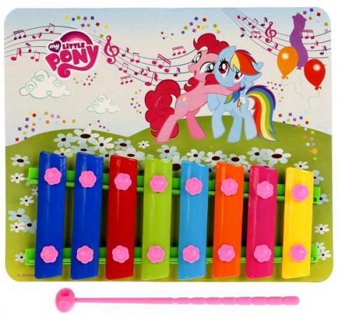 Ксилофон ИГРАЕМ ВМЕСТЕ MY LITTLE PONY кубики играем вместе my little pony 4 шт