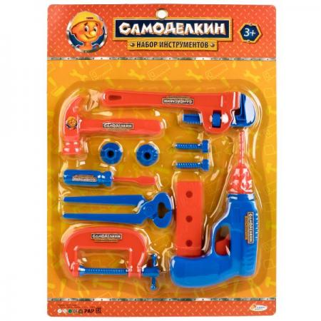 Набор инструментов ИГРАЕМ ВМЕСТЕ Самоделкин 11 предметов тестер duwi 26041 7