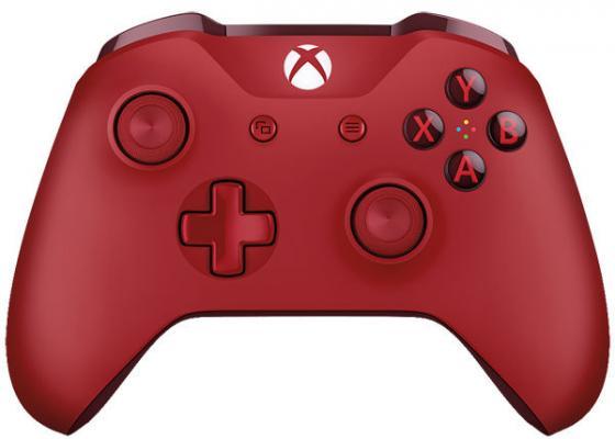Геймпад Беспроводной Microsoft WL3-00028 красный для: Xbox One xbox