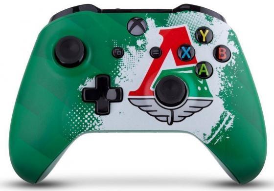 Геймпад Беспроводной Microsoft Локомотив Чемпионский экспресс зеленый для: Xbox One (TF5-00004-LMO) xbox