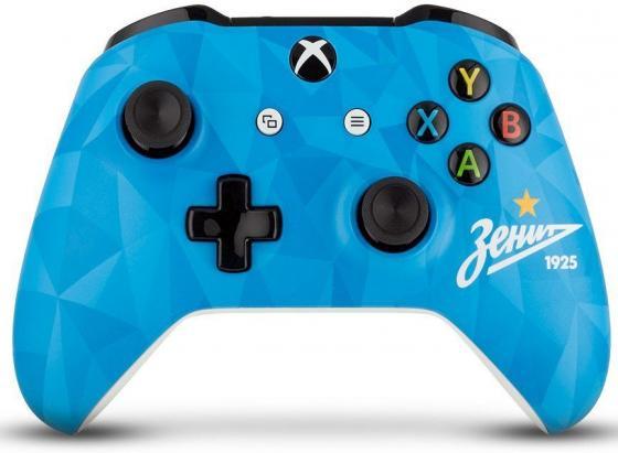 Геймпад Беспроводной Microsoft ФК Зенит Северное Сияние голубой для: Xbox One (TF5-00004-ZSP) xbox