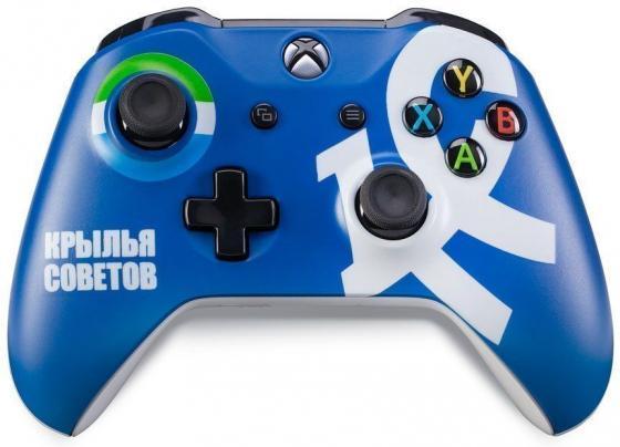 Геймпад Беспроводной Microsoft ФК Крылья Советов синий для: Xbox One (TF5-00004-KC)